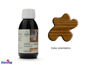 TINTE AL DISOLVENTE CHOPO 125ml NOGAL
