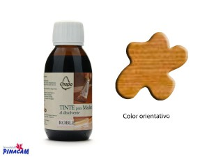 TINTE AL DISOLVENTE CHOPO 125ml ROBLE