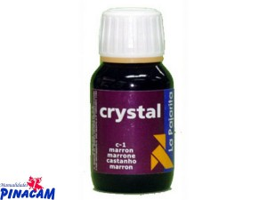 PINTURA CRISTAL 50ML C-01 MARRÓN