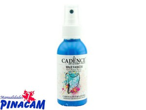 PINTURA TEXTIL SPRAY CADENCE 100ml AZUL